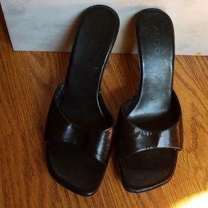 Aldo Honey heels as is